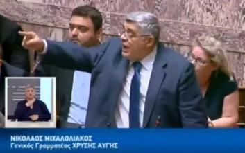Ένταση και φωνές ανάμεσα σε Μιχαλολιάκο και Φίλη στη Βουλή
