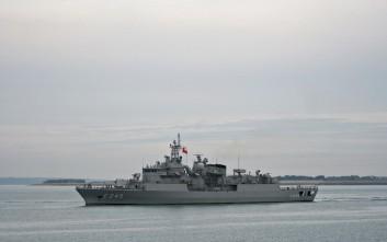 Τουρκική άσκηση εντοπισμού και διάσωσης υποβρυχίου στην ανατολική Μεσόγειο