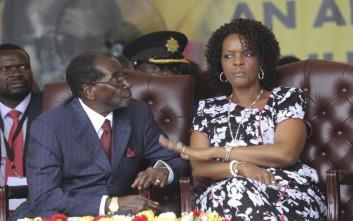 Τη διπλωματική ασυλία της επικαλείται η πρώτη κυρία της Ζιμπάμπουε
