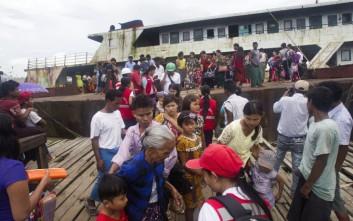 Καταφύγιο στο Μπανγκλαντές για 3.000 μέλη των Ροχίνγκια