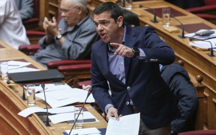 Τσίπρας: Κάνετε τον Βαρουφάκη βασικό σας σύμμαχο στην πολιτική σας
