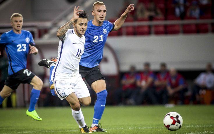 Κόλλησε στο 0-0 με την Εσθονία η Εθνική