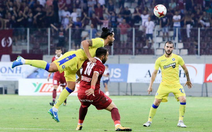 Στο 1-1 έμειναν Λάρισα και Αστέρας Τρίπολης