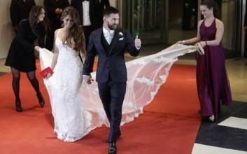 Πόσα μάζεψαν οι 260 καλεσμένοι στο γάμο του Μέσι για φιλανθρωπικό σκοπό