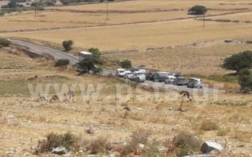Σύγκρουση αυτοκινήτου με λεωφορείο στην Πάρο