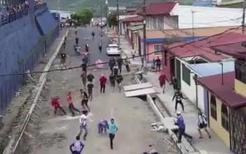 Χτύπημα απίστευτης βαρβαρότητας μεταξύ οπαδών στην Κόστα Ρίκα