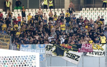 Στα… κάγκελα οι οπαδοί της ΑΕΚ στο Βέλγιο