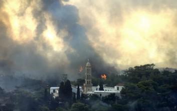 Χωρίς ενεργό μέτωπο η φωτιά στα Κύθηρα μετά από μάχη τεσσάρων ημερών