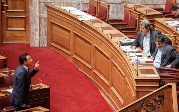 Νέα άγρια κόντρα μεταξύ Πολάκη - Γεωργιάδη στη Βουλή