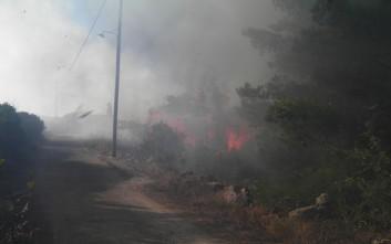 Επίθεση από τη ΝΔ για τη φωτιά στα Κύθηρα