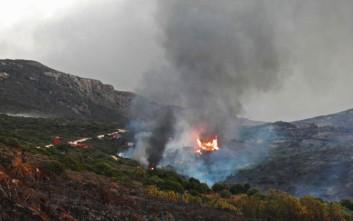 Οικονομική ενίσχυση στο Δήμο Κυθήρων για αποκατάσταση από την πρόσφατη πυρκαγιά