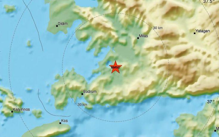 Σεισμός 4,7 ρίχτερ στη δυτική Τουρκία