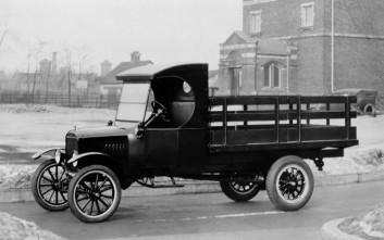 Εκατό χρόνια επαγγελματικά οχήματα για τη Ford