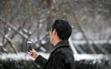 Χιόνισε μέσα στον Αύγουστο στη βόρεια Κίνα