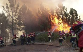 Στο έλεος των πυρκαγιών η Πορτογαλία