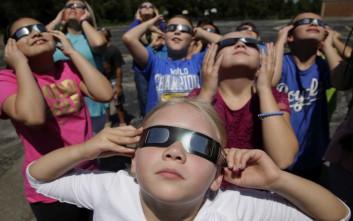 Πρώτη έκλειψη ηλίου στις ΗΠΑ εδώ και 99 χρόνια