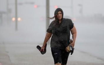 Ο τυφώνας Χάρβεϊ «χτύπησε» το Τέξας