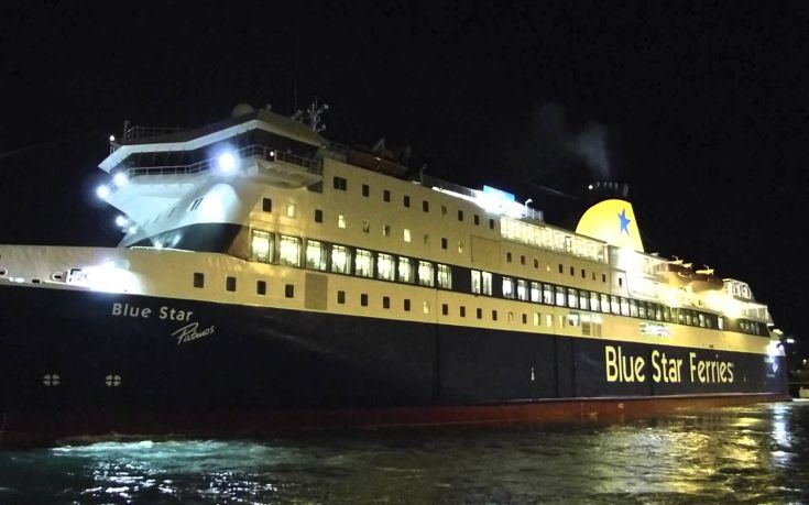 Ξεκίνησε η επιχείρηση αποκόλλησης του Blue Star Patmos
