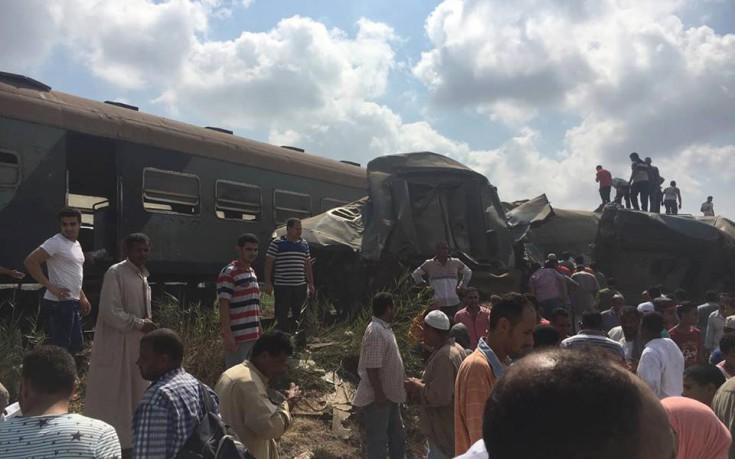 Στους 41 οι νεκροί από τη σύγκρουση τρένων στην Αίγυπτο