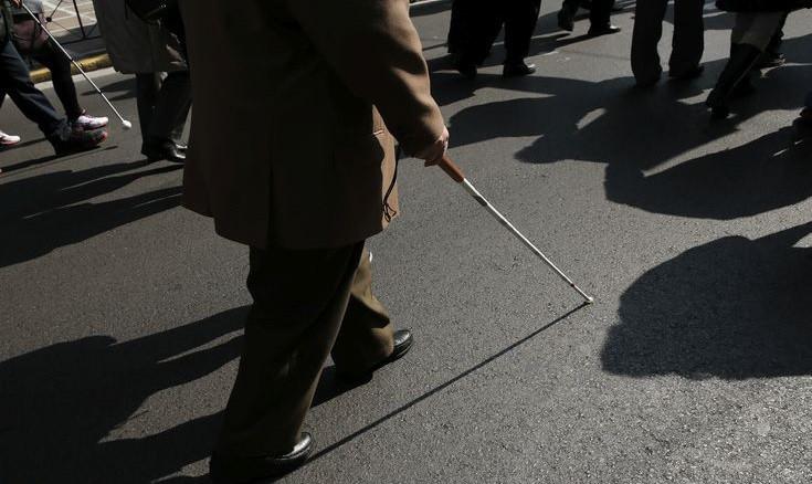 Οι τυφλοί είναι σήμερα 36 εκατομμύρια και θα τριπλασιαστούν ως το 2050