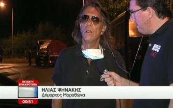 Ψινάκης: Με ενημέρωσε η Δούρου στις 6 το πρωί, πήρα ελικόπτερο και τσακίστηκα