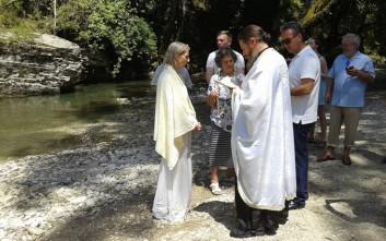 Από την Αυστραλία στην Ελλάδα για να βαφτιστεί Χριστιανή Ορθόδοξη