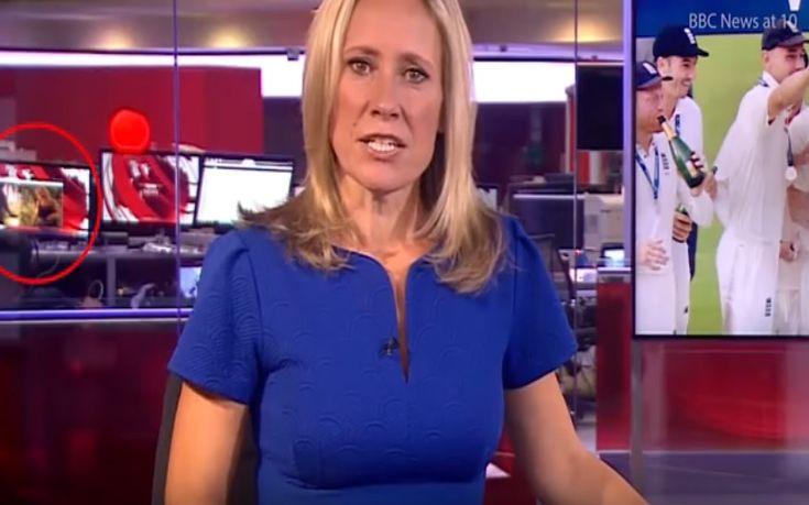 Δελτίο ειδήσεων του BBC με φόντο ροζ βίντεο