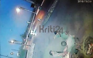 Βίντεο λίγο πριν το δυστύχημα με δύο νεκρούς φοιτητές στην Κρήτη