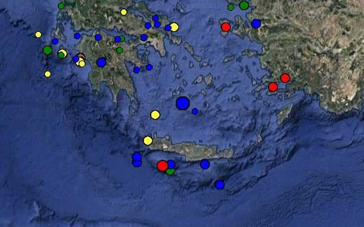 Σεισμός 4 Ρίχτερ κοντά στη Γαύδο