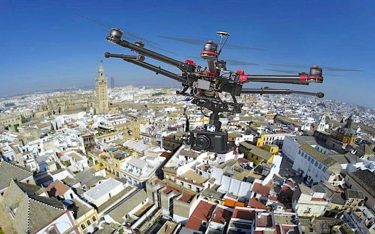 Η αστυνομία της Αγγλίας υιοθετεί τη χρήση drones