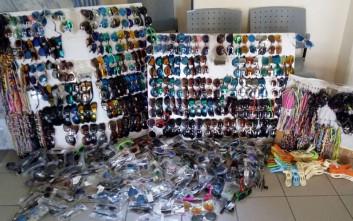 Κατασχέθηκαν πάνω από 4.500 είδη παρεμπορίου στη Χαλκιδική