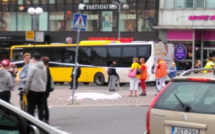 Ένας νεκρός και οκτώ τραυματίες από την επίθεση στη Φινλανδία