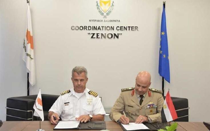 Κύπρος και Αίγυπτος υπέγραψαν στρατιωτική συνεργασία