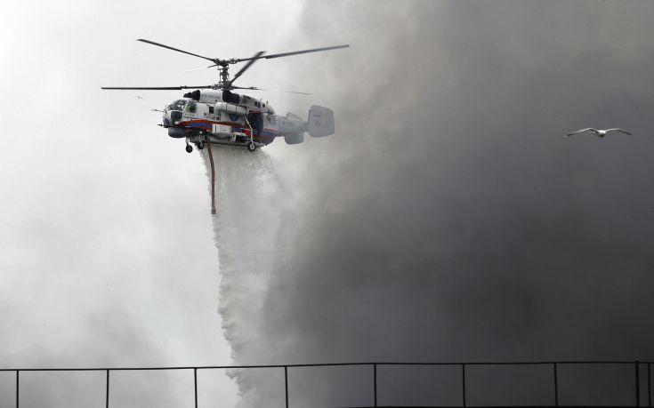 Στην Κρήτη τα δύο πρώτα πυροσβεστικά ελικόπτερα Kamov