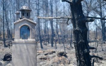Εικόνες βιβλικής καταστροφής από τα Κύθηρα