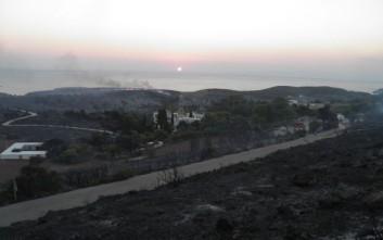 Ψάχνουν τα αίτια για τα 15.000 καμένα στρέμματα γης στα Κύθηρα