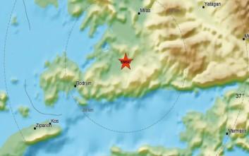Σεισμός 5 Ρίχτερ στη δυτική Τουρκία