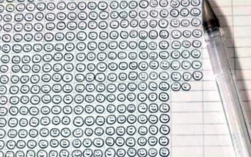 Πόσες χαμογελαστές φατσούλες μπορεί να σχεδιάσει ένα στυλό;