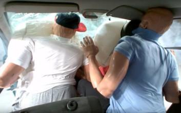 Τι συμβαίνει όταν δεν φοράμε ζώνη ασφαλείας σε ένα τροχαίο