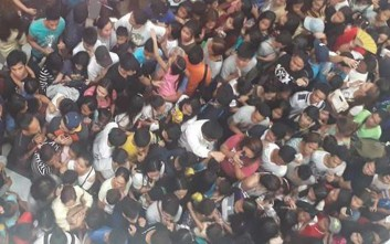 Ποδοπατήθηκαν για ένα μπέργκερ στις Φιλιππίνες