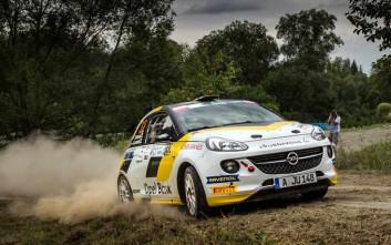 Νικήτρια στο ράλι των Καρπαθίων η Opel