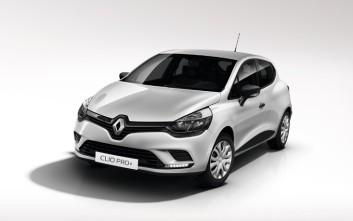 Νέο χρηματικό πρόγραμμα της Renault για τα επαγγελματικά Clio Pro+
