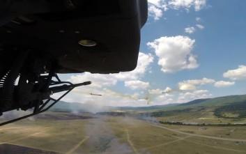 Ελληνικά επιθετικά ελικόπτερα έπληξαν στόχους στη Βουλγαρία