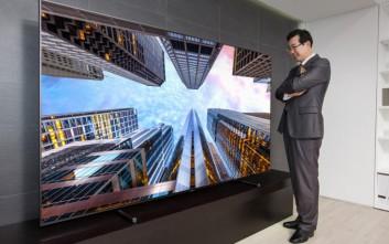 Η τηλεόραση των 88 ιντσών που θα κάνει το σαλόνι σου... σινεμά!