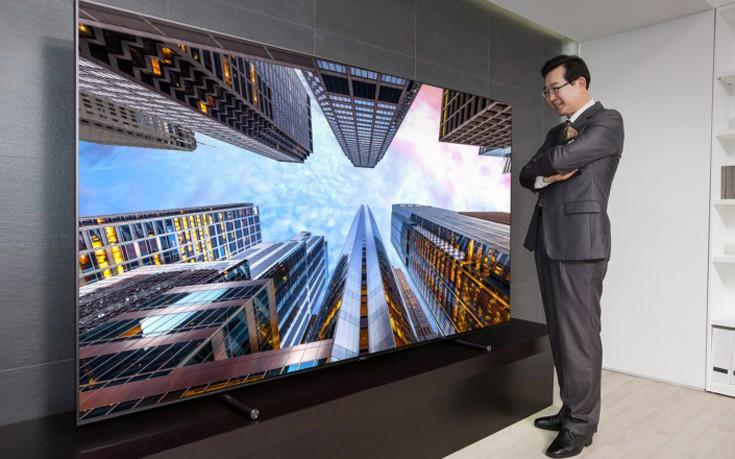 Η τηλεόραση των 88 ιντσών που θα κάνει το σαλόνι σου… σινεμά!