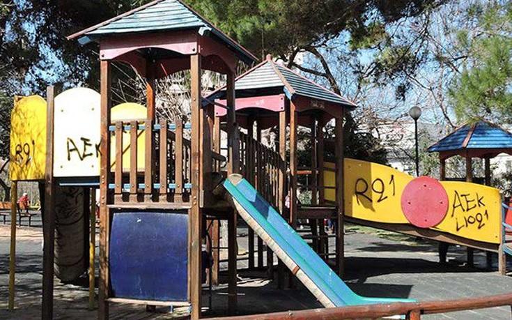 Ατύχημα με παιδί σε παιδική χαρά στον δημοτικό κήπο στα Χανιά