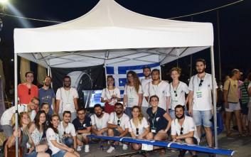 Ομάδα Ελλήνων φοιτητών στον παγκόσμιο φοιτητικό διαγωνισμό αεροναυτικής