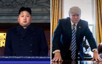 Το απίθανο σκίτσο του Spiegel για τους «πυραύλους» Κιμ Γιονγκ Ουν και Τραμπ