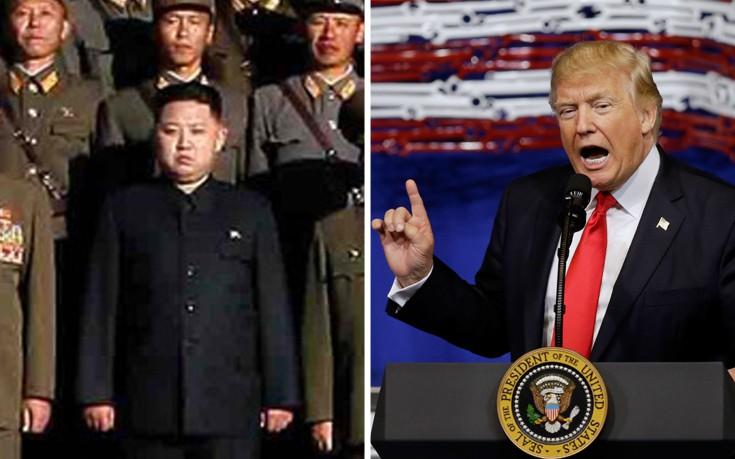 Τραμπ: Αν ο Κιμ Γιονγκ Ουν επιτεθεί στο Γκουάμ θα το μετανιώσει
