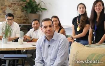 Τσίπρας: Ανοίξαμε την αλληλέγγυα οικονομία σε όλον τον πληθυσμό